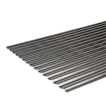 Aluminium golfprofiel 18/76; 0,35 mm dik
