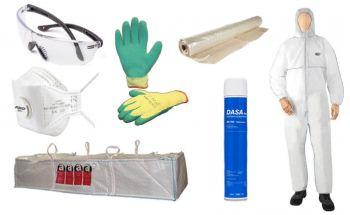 Asbest verwijder pakket; afvoer door Kuras