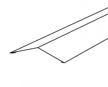Gezette bovennok RAL 7016; 3.000 mm