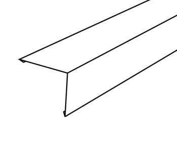 Buitenhoek 300 x 15 x 15 cm