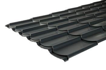 Kingstile dakpanplaat 350mm pan: 0,5mm