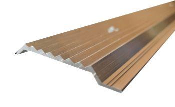 Knelprofiel - aluminium - 2.500 x 50 mm - Ø 6 mm
