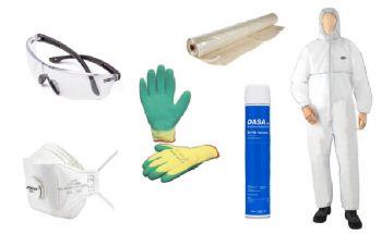 Asbest verwijder pakket; zelf afvoeren