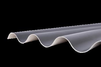 Ritini kunststof golfplaat antraciet; 310 t/m 560 cm